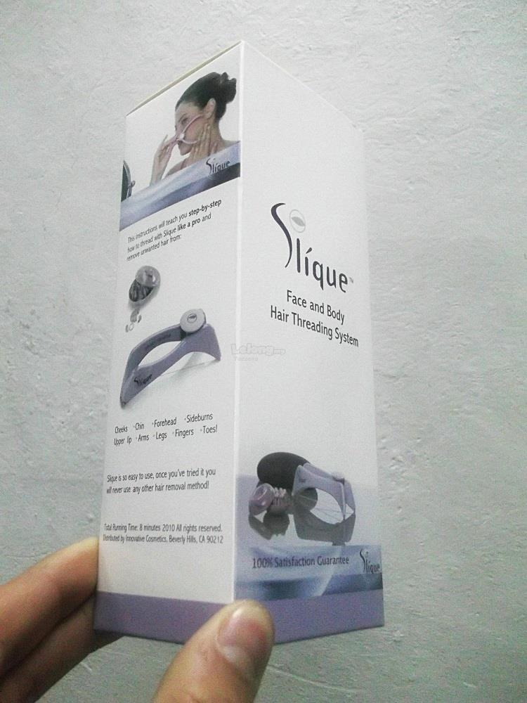 Slique Portable Face Body Facial Hair Removal Threading System (T)