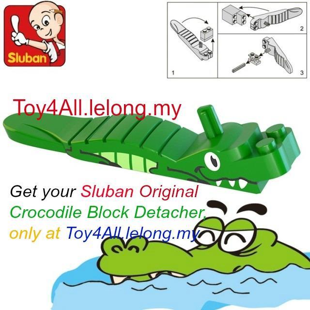 Sluban Original Crocodile Block De End 4302019 515 Pm