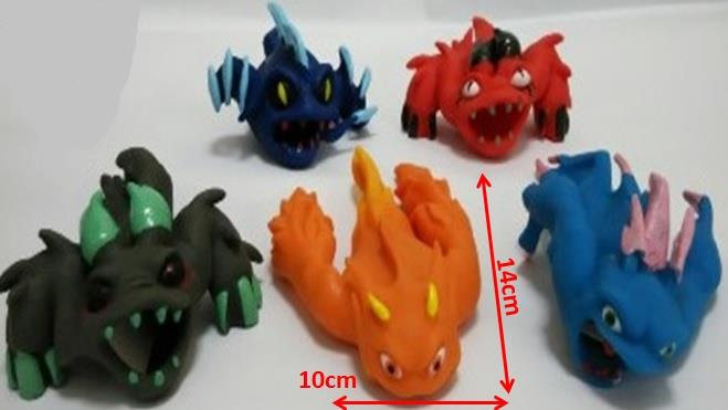 Slugterra Transformation Rubber Toys -SLCT07