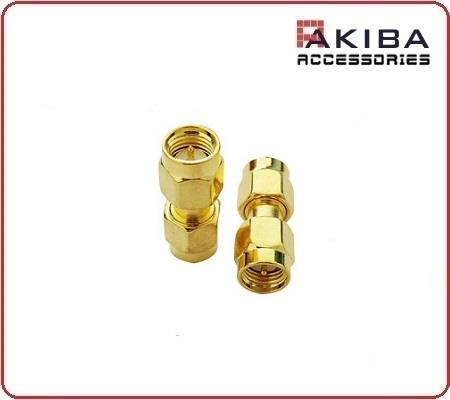 SMA-JJ MM Inner Thread Pin to Pin Plug RF Coaxial Connector