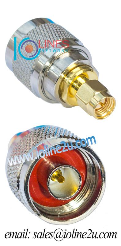 SMA Male to N type Male adapter Convert SMA to N Connector