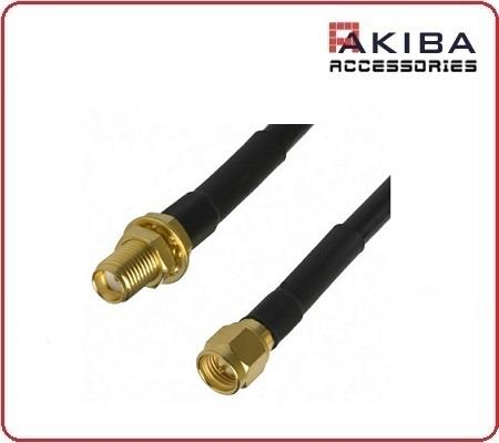 SMA Male to SMA Female Antenna Cable Jumper Pigtail B-Type 5m