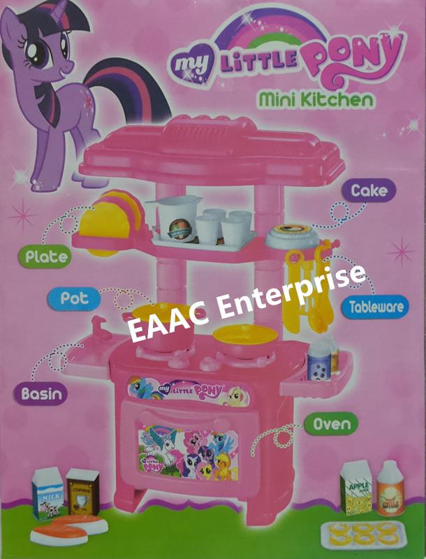 Small and Cute My Little Pony Kitchen Set