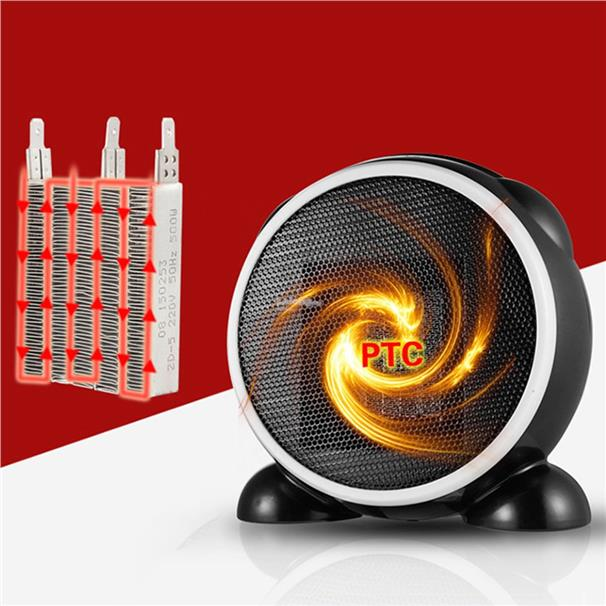 Small Desktop Heater Mini Portable Personal Space Electric Heaters EU