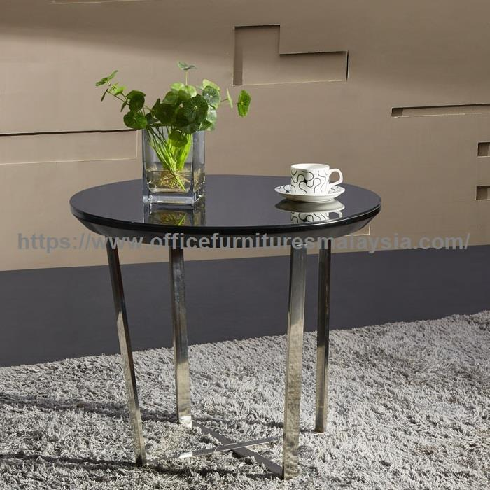 Small Round Glass Coffee Table YG7 (end 12/28/2019 12:15 PM