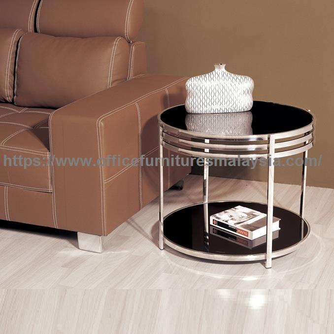 Small Round Glass Coffee Table Ygt 87 End 1 8 2022 3 15 Pm