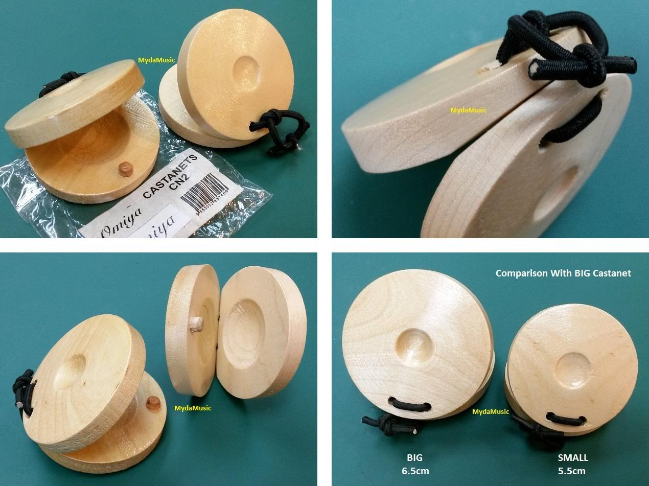 SMALL. Hand Percussion Wooden Finger Castanets