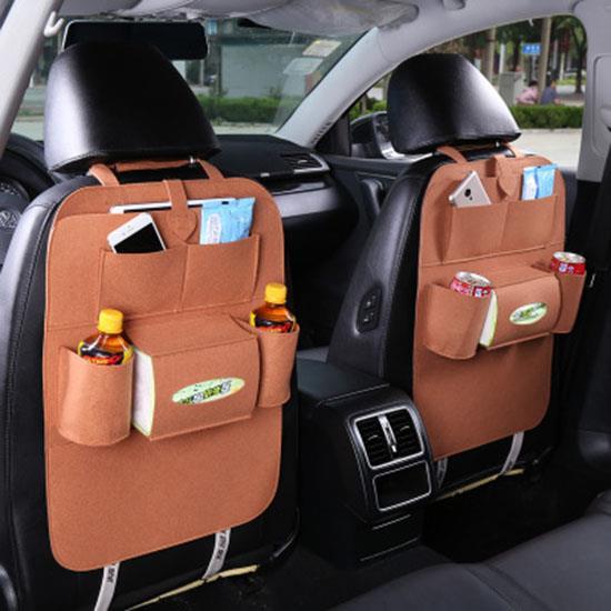 Smart Car Organizer Seat Back Storage Hang Bag