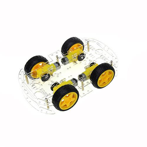 Smart Car Robot Chassis 4WD 4 Wheels For Arduino PIC