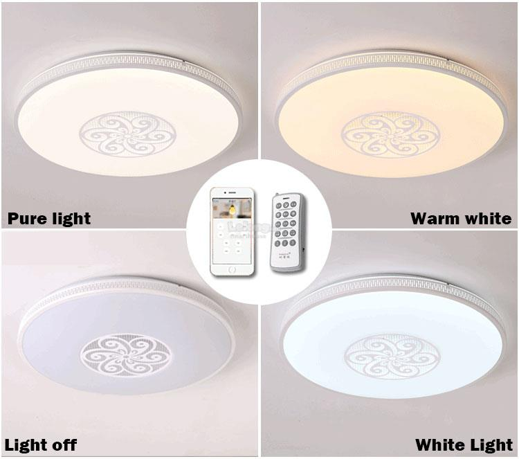 Smart circular ceiling light broadli end 1122018 415 pm smart circular ceiling light broadlink rm pro timer remote control mozeypictures Gallery