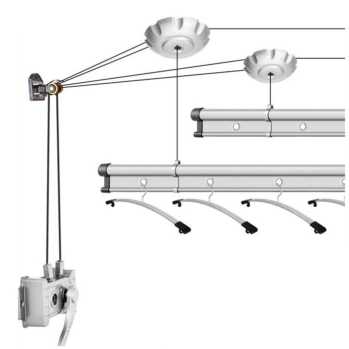 Smart Drying Rack 240CM (Can Not Be Used Pos Domestic )