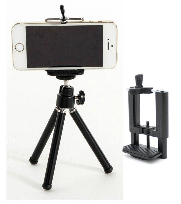 shades of great look favorable price Smart Mobile Phone Handphone Holder (50mm-100mm) + Mini Tripod