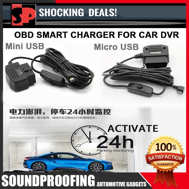 Smart OBD DVR Charger (Active 24 Hour Car Parking Mode)