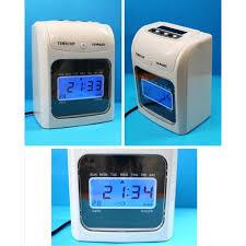 SMART TIME RECORDER CLOCK 6 COLUMNS FREE CARD + 3 YEARS WARRANTY