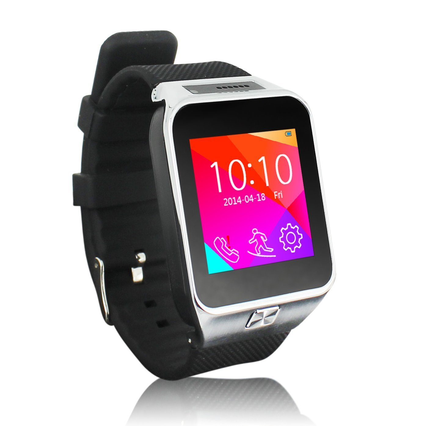 watches watch bluetooth smart ebay waterproof for iphone nfc phone itm mate mobile silver android