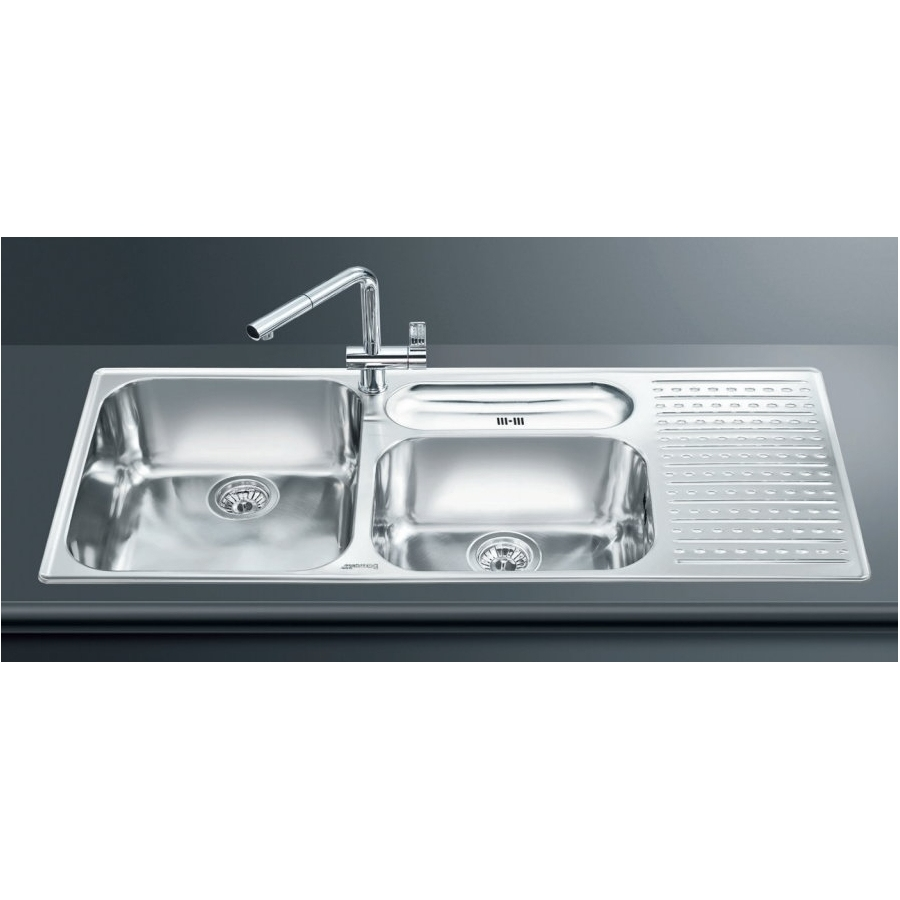 Smeg Sink LTS1163D-2 1 3/4 Bowl 1 (end 12/17/2019 10:35 AM)