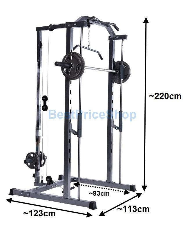 Smith Machine Squat Power Rack Stati End 4 28 2018 6 19 Pm