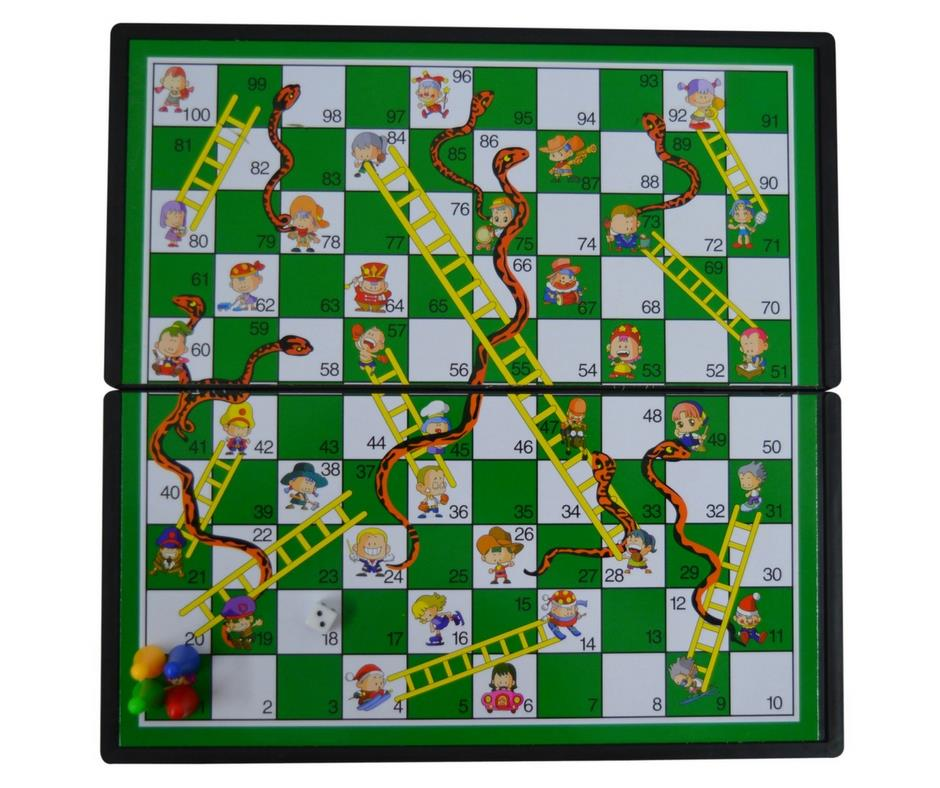 Snake and Ladder Game With Foldable (end 7/24/2019 4:15 PM)