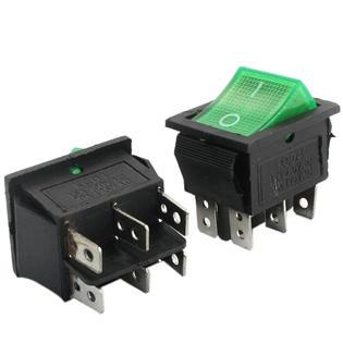 ON/OFF Snap in Rocker Switch 15A 250VAC 28mm x 22mm