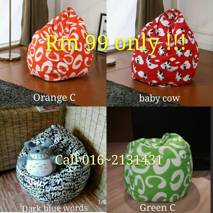 Snoopy Bean Bag Chair Sofa Home Furniture Kerusi Perabot