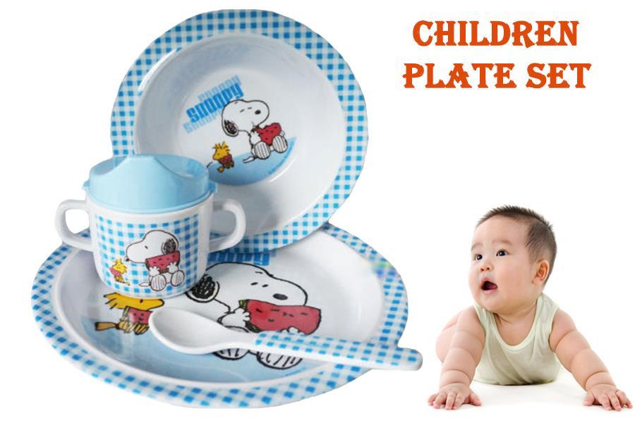Snoopy Children Plate Set Simple Design For Kids/Baby  sc 1 st  Lelong.my & Snoopy Children Plate Set Simple De (end 11/14/2019 5:15 PM)