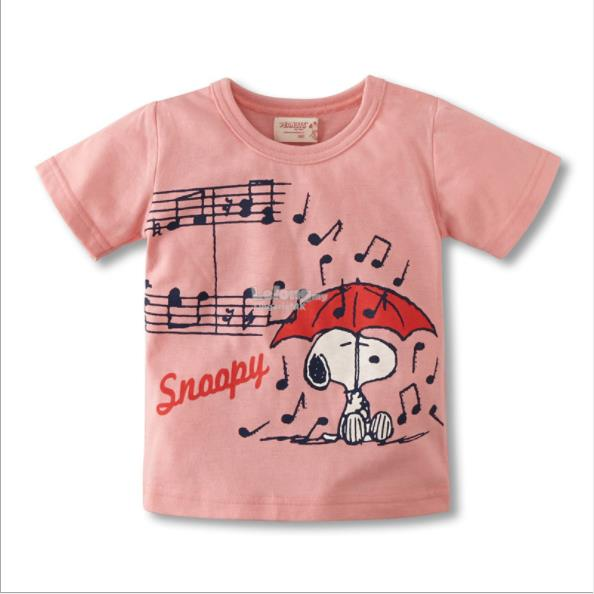 Snoopy Girl Short Sleeves T-shirt