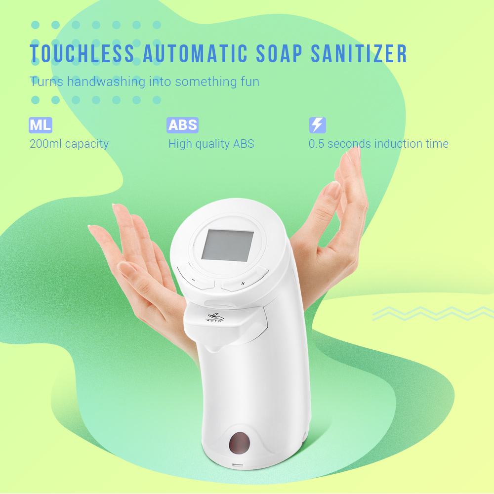 Soap Dispensers - Ad - 04 200ml Automatic Touchless Soap Dispenser Ir ..