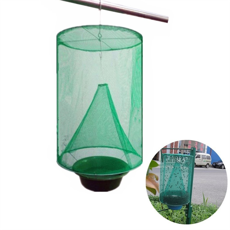 Soap Dispensers - Fly Catching Cage - Flies Flytrap Zapper Cage Net Tr..
