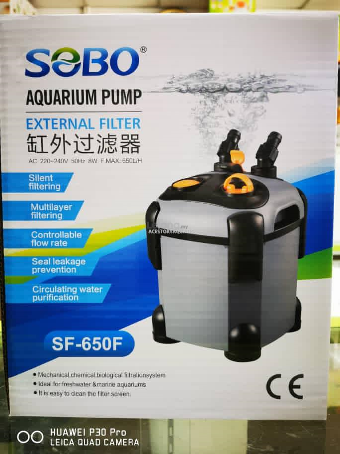 Sobo External Canister Filter (SF-650F)