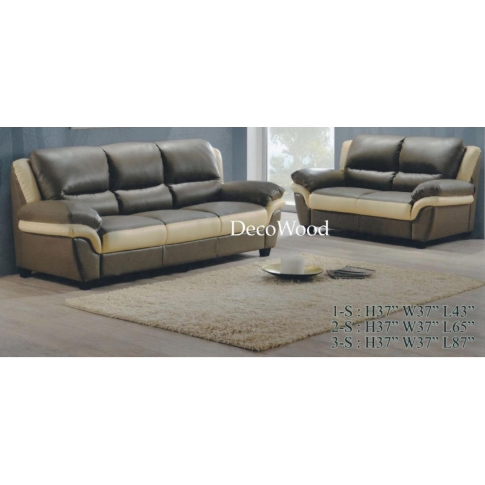 Sofa 2+3 Seater Fully Leather Sofa/Lounge Chair/Relax Sofa/Relax Chair
