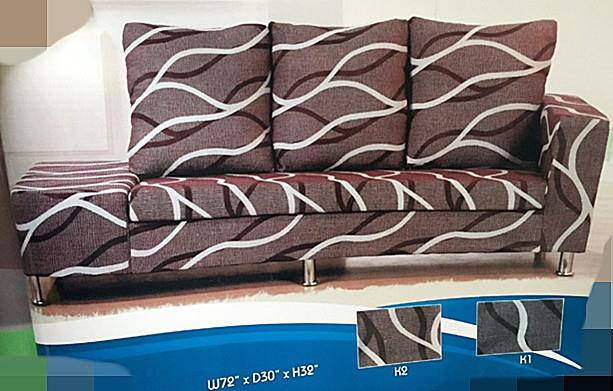 SOFA 3 SEATER +STOOL MODEL -M 910