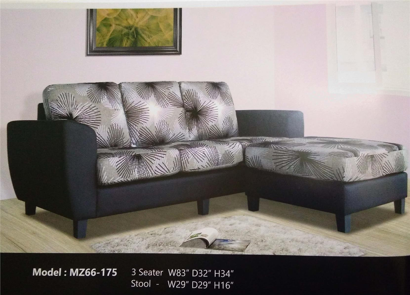 SOFA (3SEATER+STOOL) INSTALLMENT PLAN PAYMENT MODEL MZ66-175