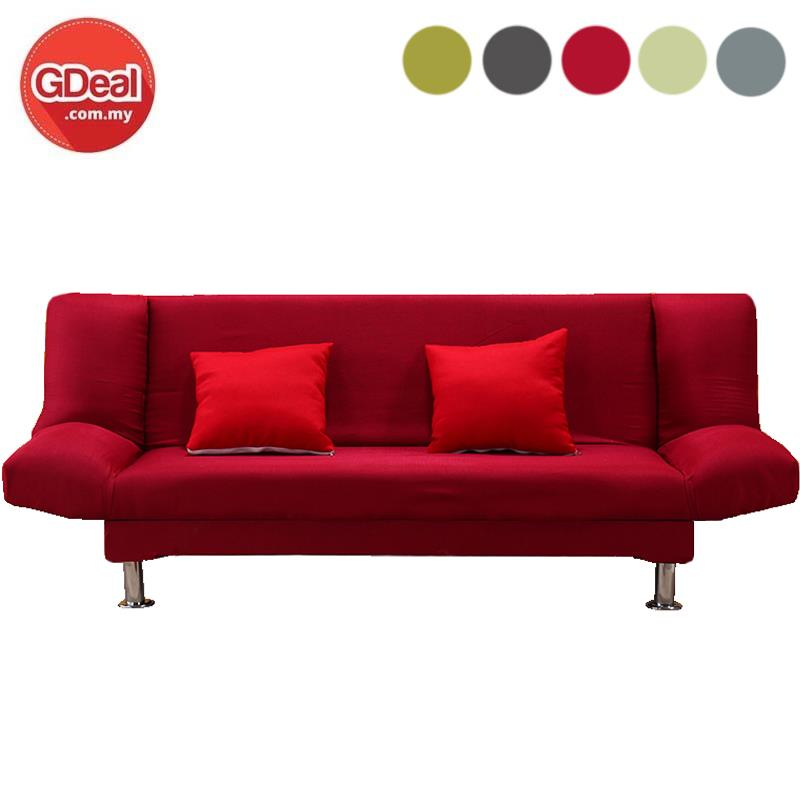the latest 8a42c c5363 Sofa Bed 2-Seater Foldable Sofa Living Room Furniture With Pillow(150)