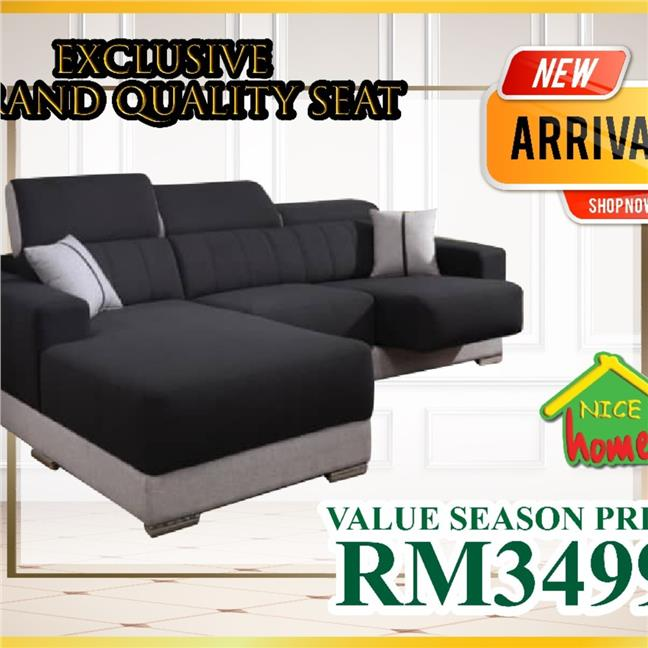 SOFA EXCLUSIVE BRAND QUALITY SEAT VALUE PRICE RM3499