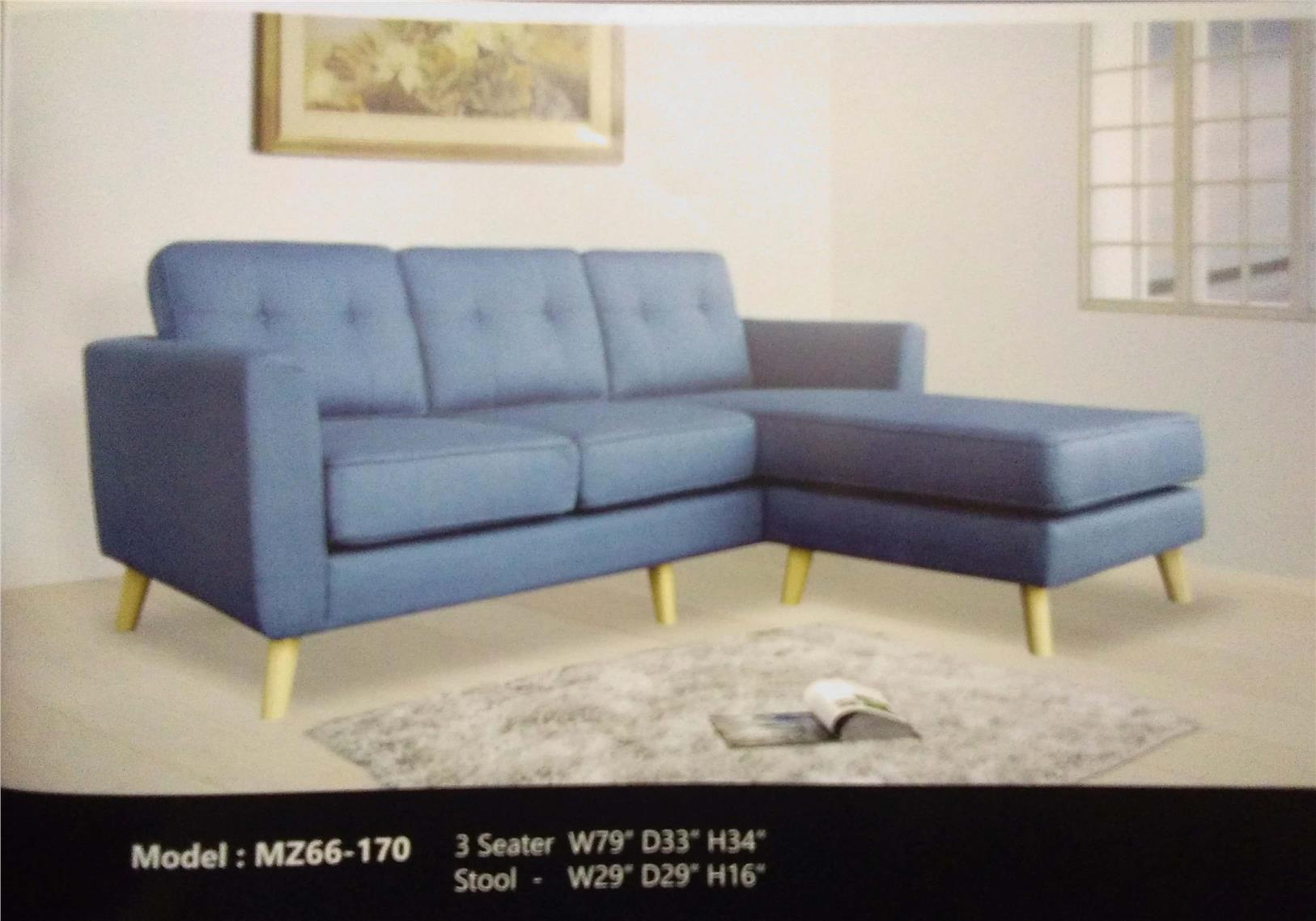 SOFA L SHAPE INSTALLMENT PLAN PAYMENT MODEL MZ66-170