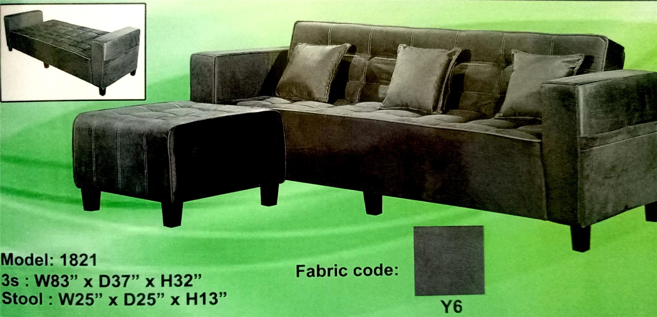 SOFA L SHAPE MODEL -1821