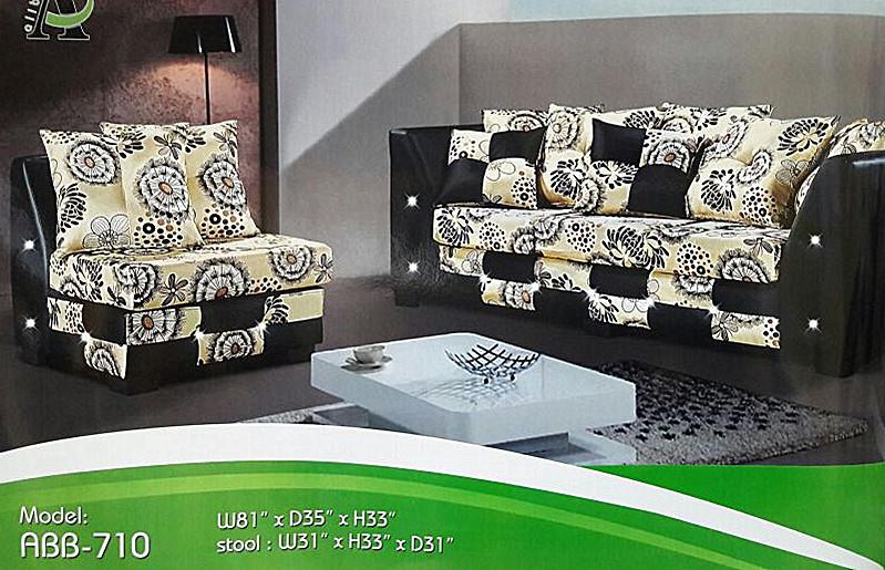 SOFA L SHAPE MODEL -ABB-710(3L) RM1,199