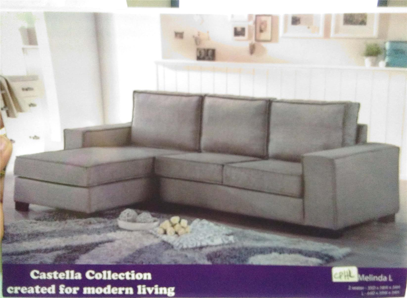 SOFA L SHAPE MODEL MELINDA