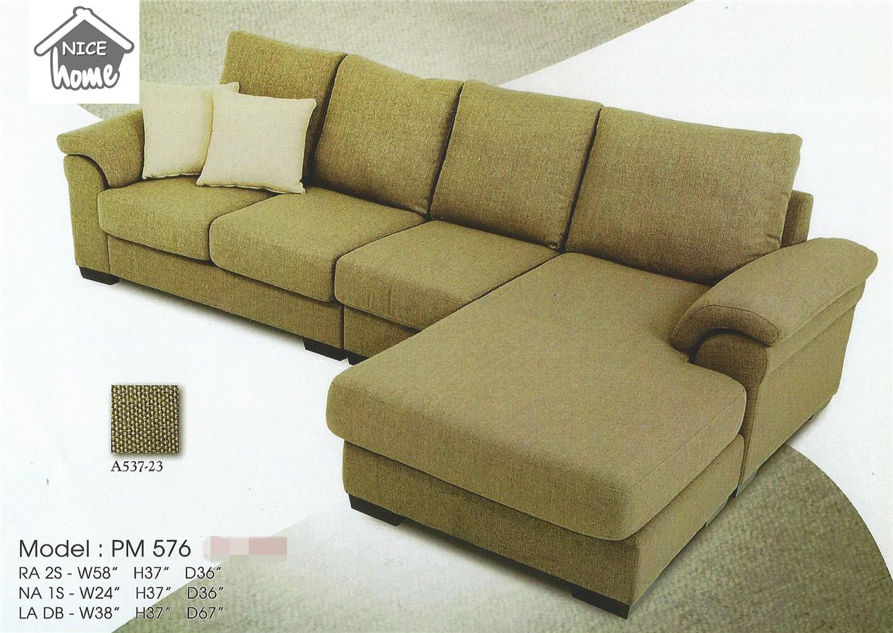 SOFA L SHAPE MONTHLY RM255- PM 576