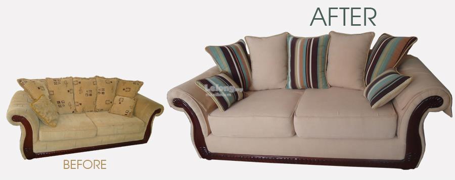Sofa refurbish, repair, renew, reupholstery