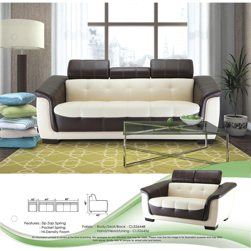 Sofa Set 1+2+3 Fully Leather Sofa L (end 4/30/2021 12:00 AM)