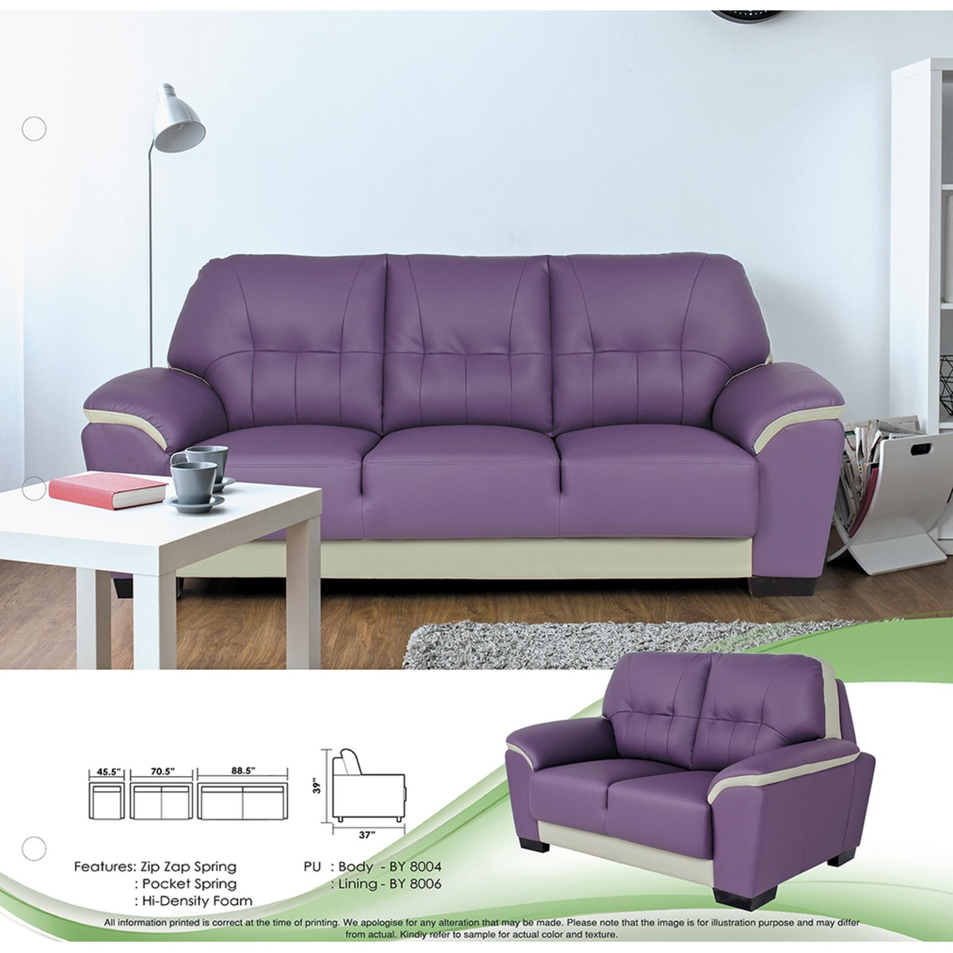 Sofa Set 1 2 3 Fully Leather