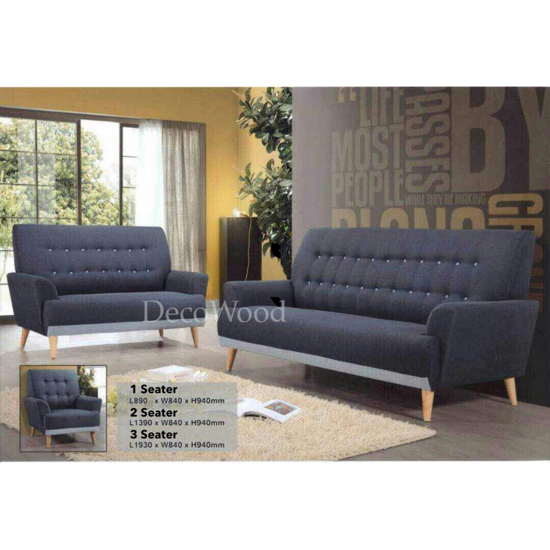 Excellent Sofa Set 2 3 Seater Fully Fabric Sofa Lounge Chair Relax Sofa Fabric Dailytribune Chair Design For Home Dailytribuneorg