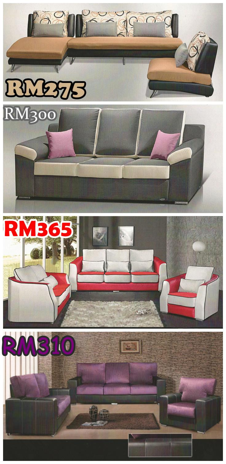 sofa set 3 2 1 seater bayaran ansura end 3 19 2017 3 15 pm. Black Bedroom Furniture Sets. Home Design Ideas