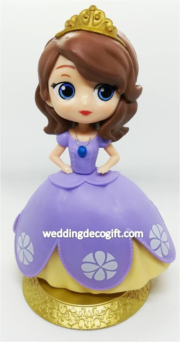 Sofia the First Cake Topper Toy, Toy Sofia the First - CCT61