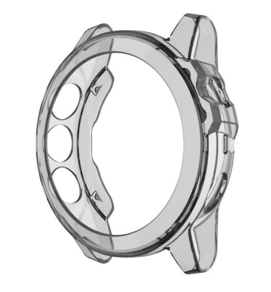 Soft Cover Bezel Case Protector Garmin Fenix 5X, Fenix 5X Plus(Grey)