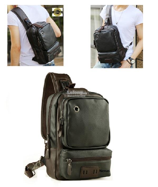 083c2ae84 NEW Soft Leather Man Ipad Bag Chest Bag Crossbody Bag Shoulder Bag. ‹ ›
