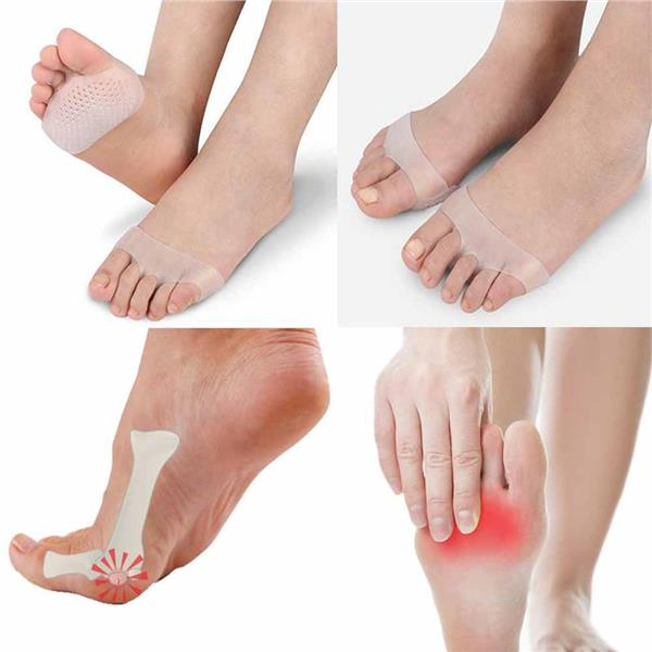 Soft Silicone Gel Toe Pad Feet Pain foot Health Care