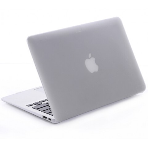 Soft Touch Cover For Macbook ( Gray )