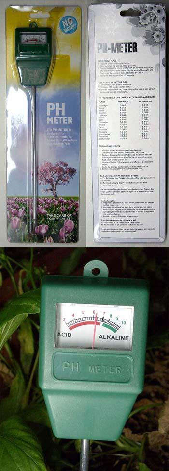 Soil Garden PH Meter - No Batteries Needed!